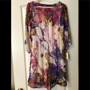 💜 NWT ECI Dress